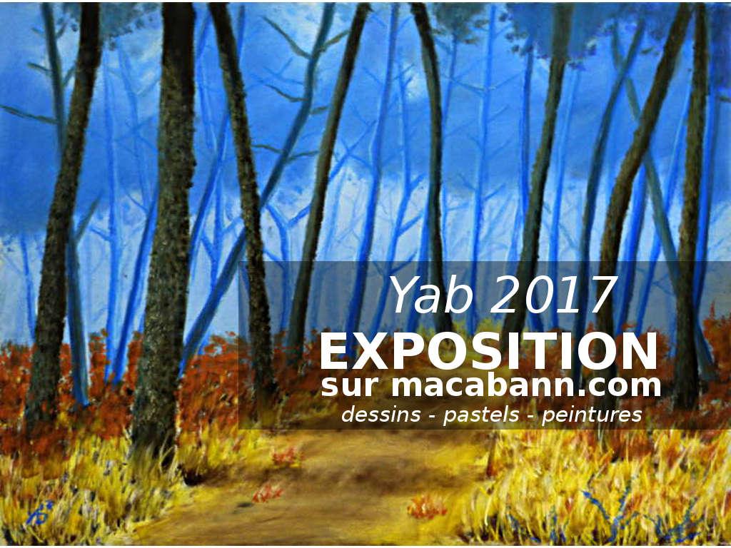 l'exposition 2017 des créations de Yab
