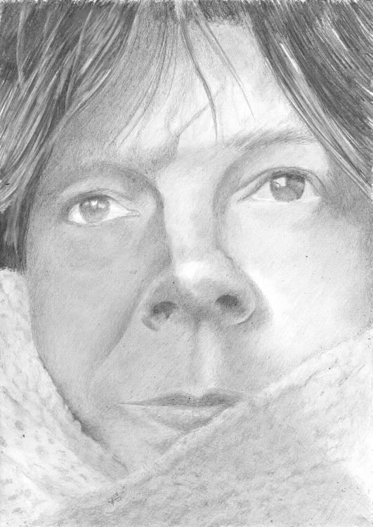Voir le portrait Gaelle 03 dessin à la graphite