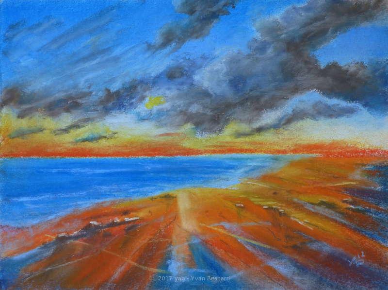 horizon 21 un coucher de soleil aux pastels tendres