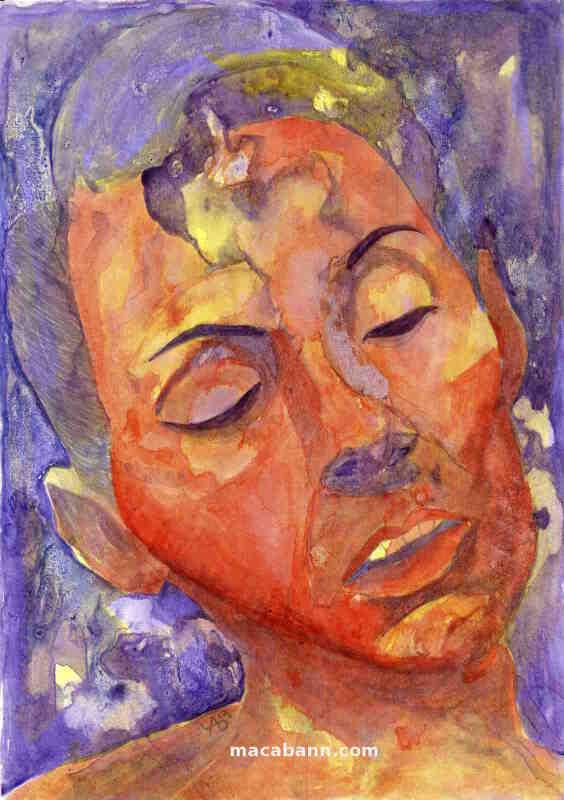 Voir le Portrait de Séverine une peinture moderne et contemporaine