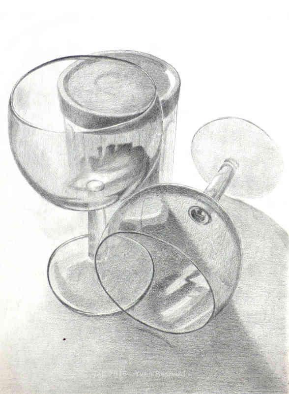 Voir Transparence 03 une étude de dessin au crayon