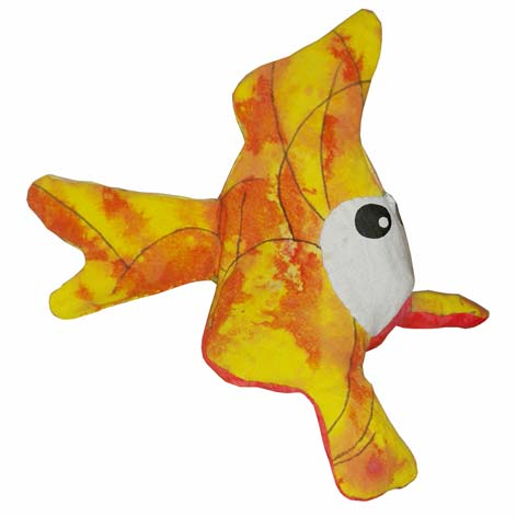 do himself the fish soft toy bubulle