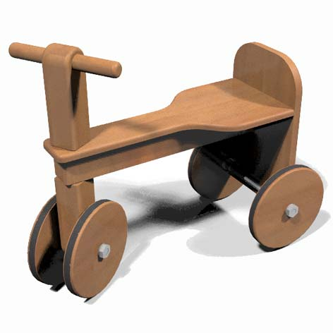 do yourself a wooden tricycle with illustrated tutorial