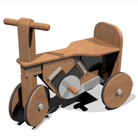 illustrated tutorial todo yourself a bike sets for the wooden tricycle