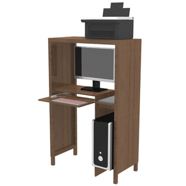 faire soi m me un bureau armoire en bois boro. Black Bedroom Furniture Sets. Home Design Ideas