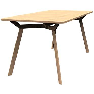 Faire soi m me une table manger en bois mayork - Faire une table a manger ...